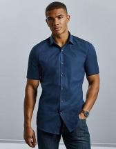 Men`s Short Sleeve Fitted Ultimate Stretch Shirt